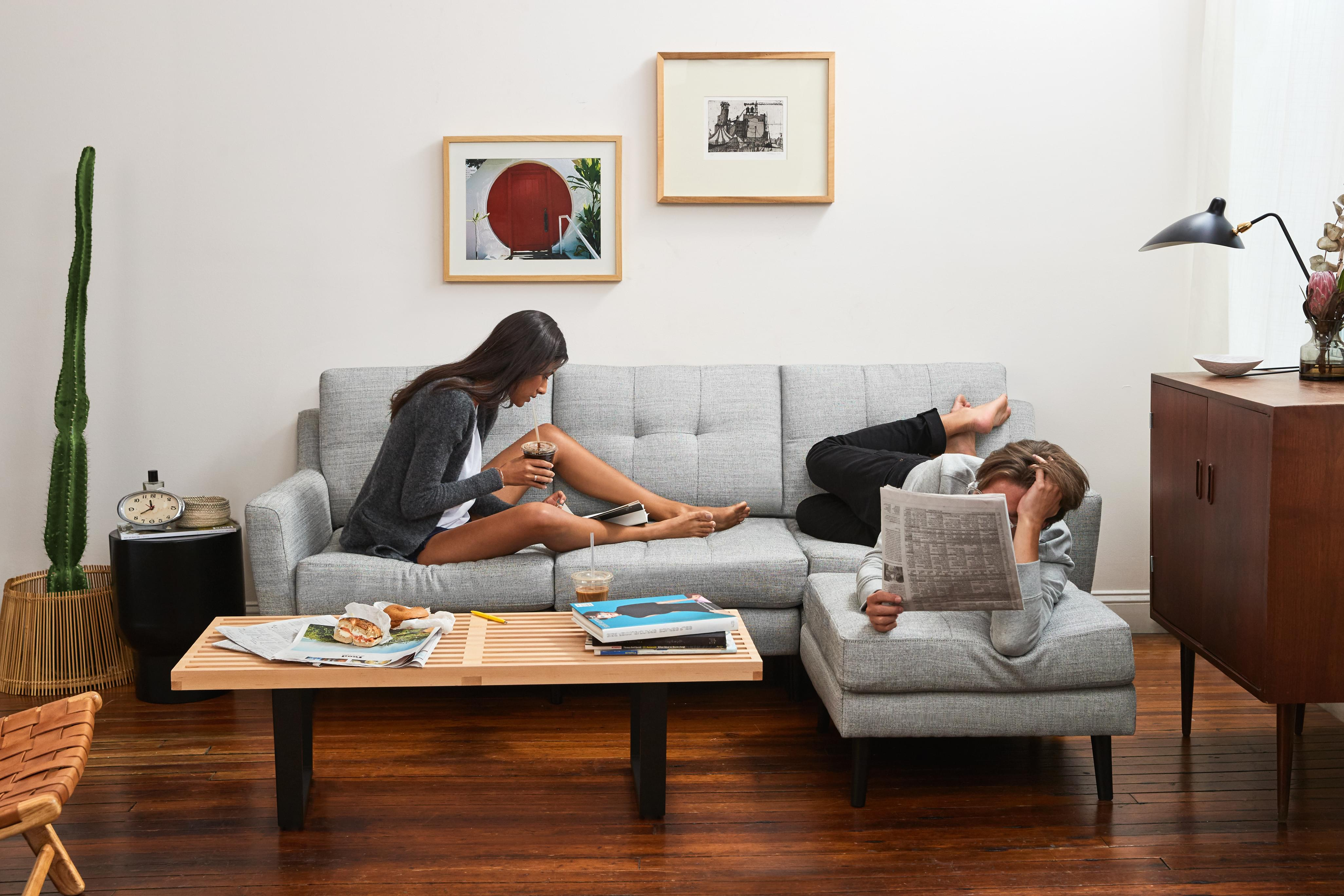 The luxury couch for real life burrow the luxury couch for real life parisarafo Choice Image